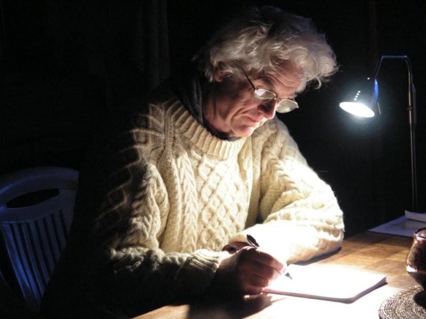 Francis writing