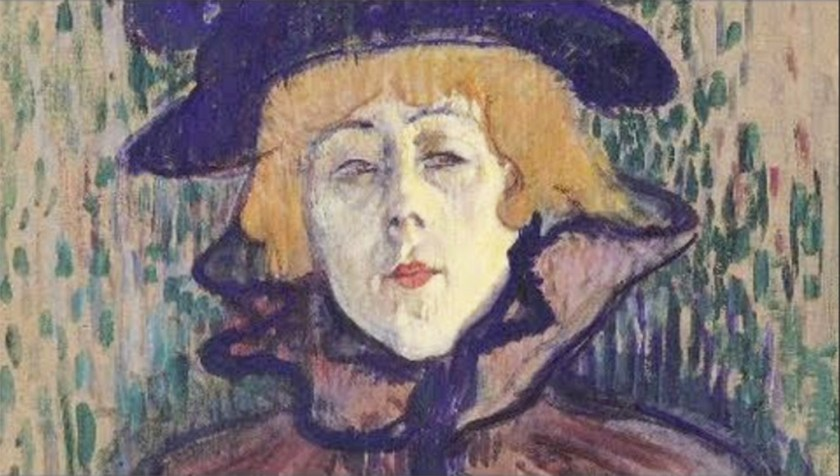 Early Modernists - Painting by Toulouse-Lautrec