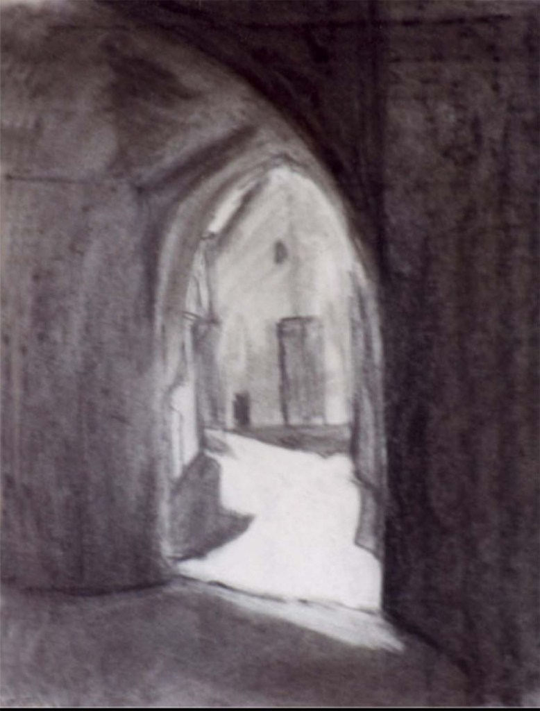 Susanne-drawing of arches