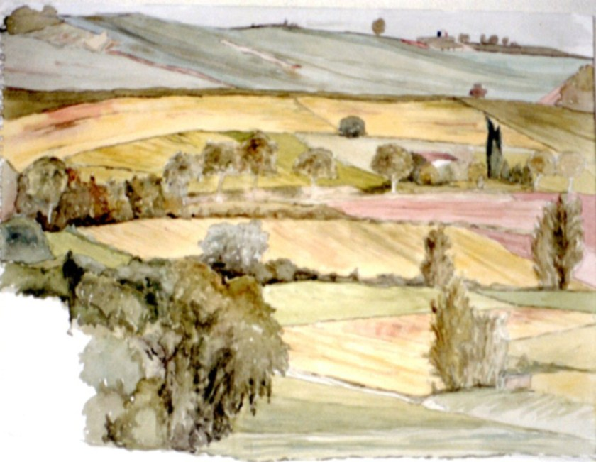chalotte Hamuoui landscape with trees