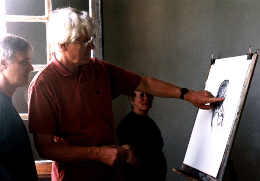 workkshops in action: teaching george with marybehind