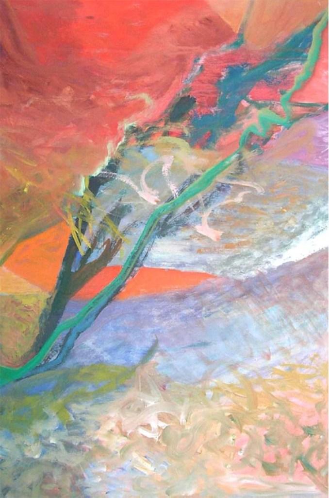 Jill Lane abstract in oil -1