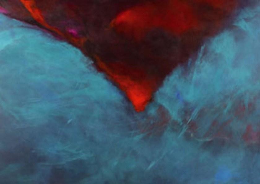 Mariska de May-red and blue