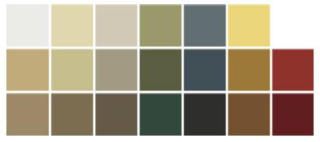 Aluminum Siding Color Chart Www Homeschoolingforfree Org