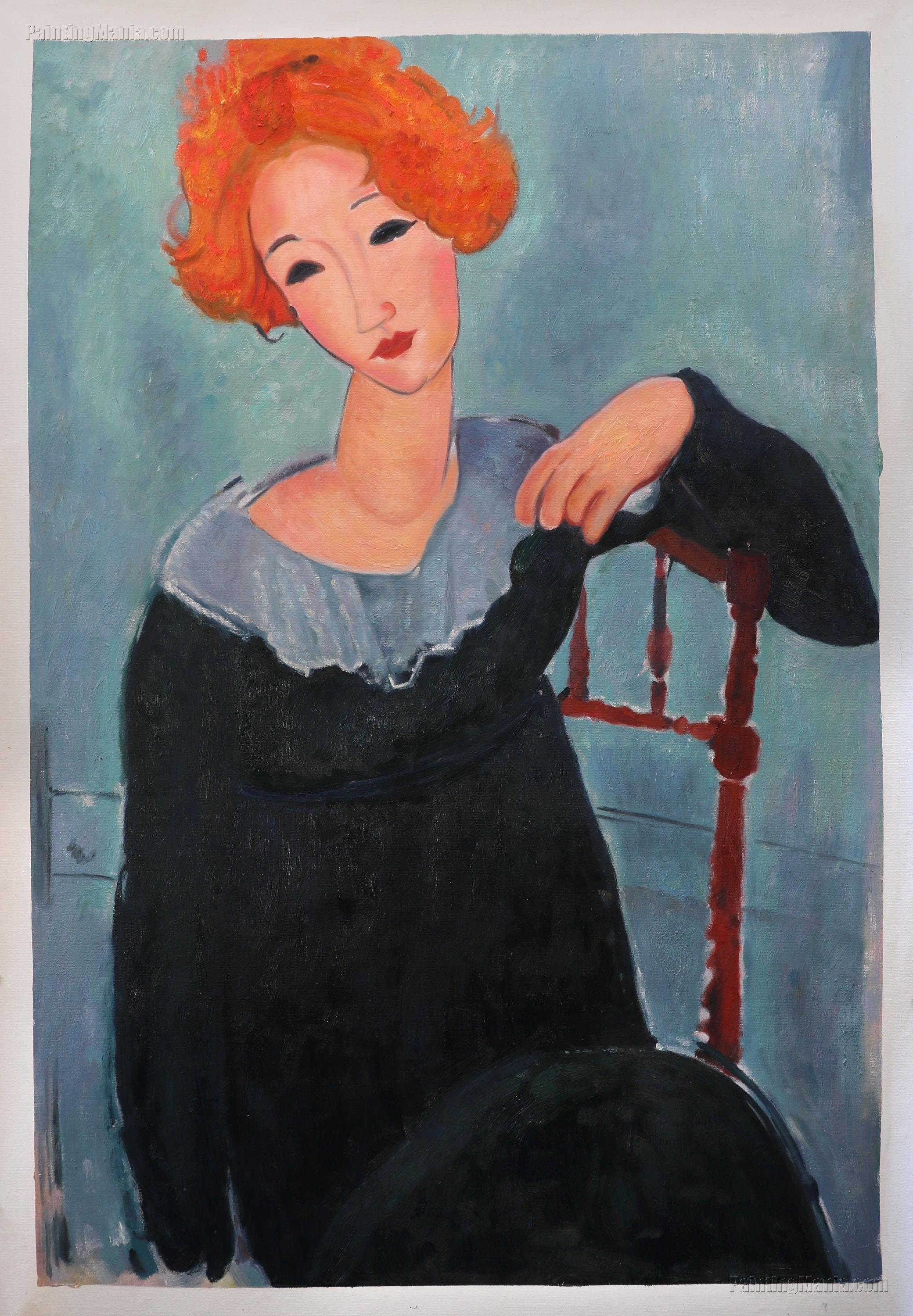Women with Red Hair Amedeo Modigliani