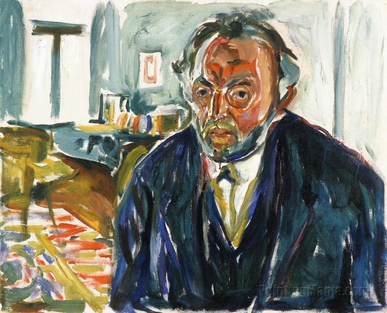 Munch Self Portrait