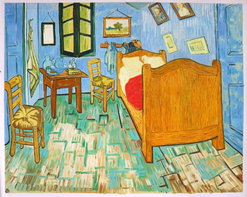 painting vincent van gogh bedroom in My favorite painting: vincent van gogh's irises american artist56, no 597 (april 1992), pp 20-23, ill carr, dawson w, and mark leonard.