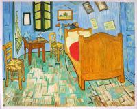 Vincent's Bedroom in Arles 1889 - Vincent van Gogh Paintings