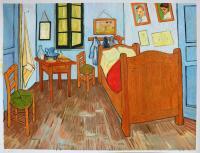 Vincent's Bedroom in Arles - Vincent van Gogh Paintings
