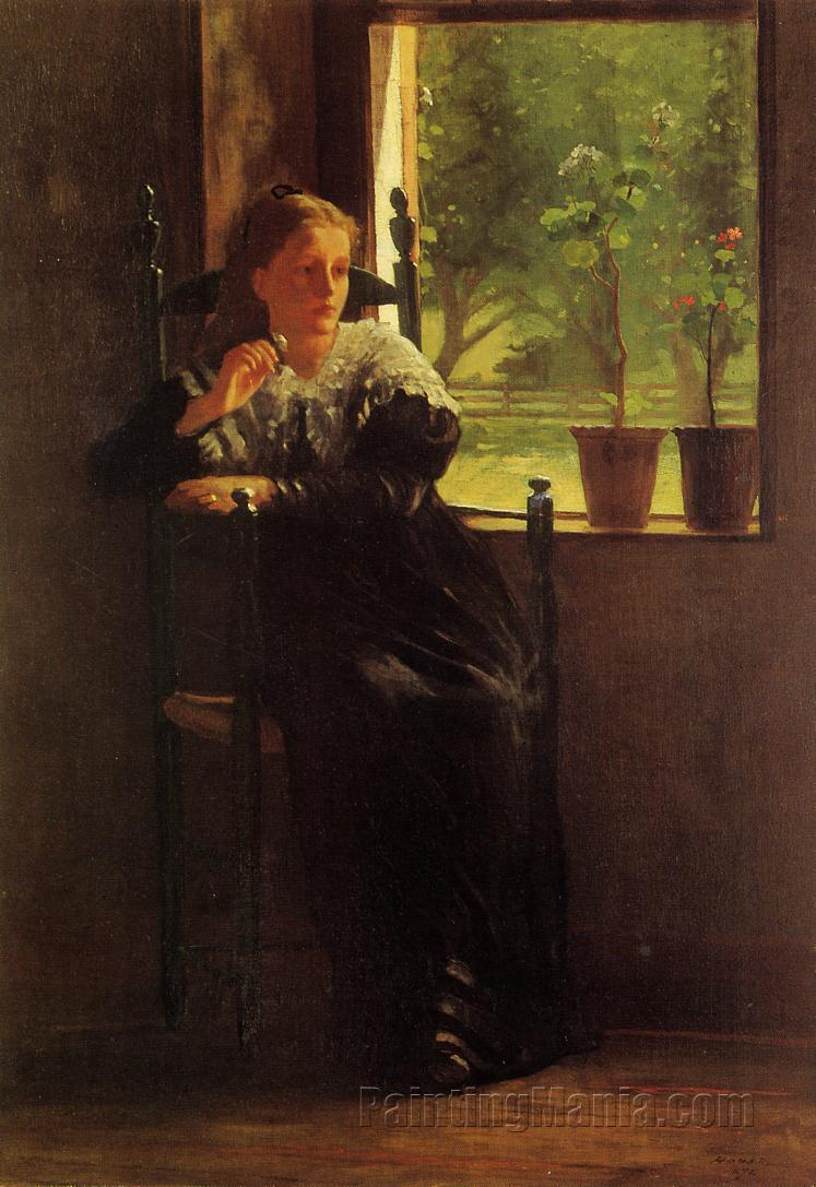 At the Window  Winslow Homer Paintings