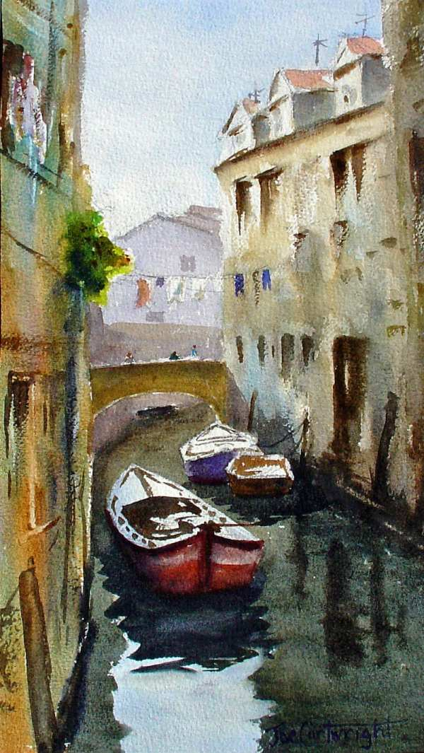 Venice Italy Watercolor Paintings