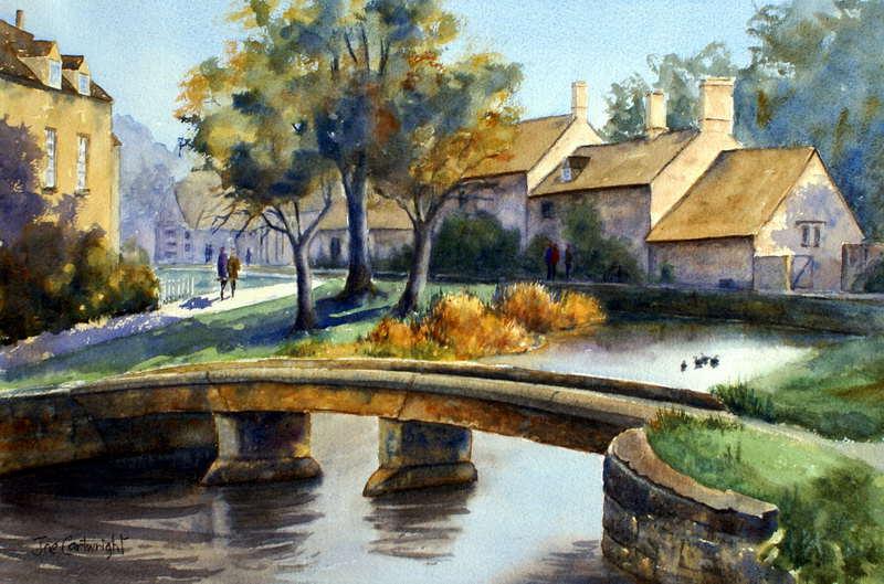 Watercolor Paintings Street Scene Gallery: Watercolour