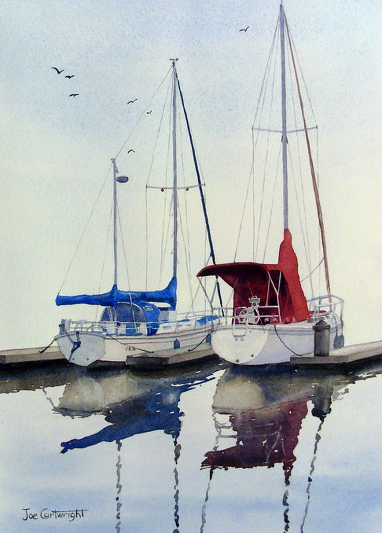 Simple Watercolor Boat | www.pixshark.com - Images ...