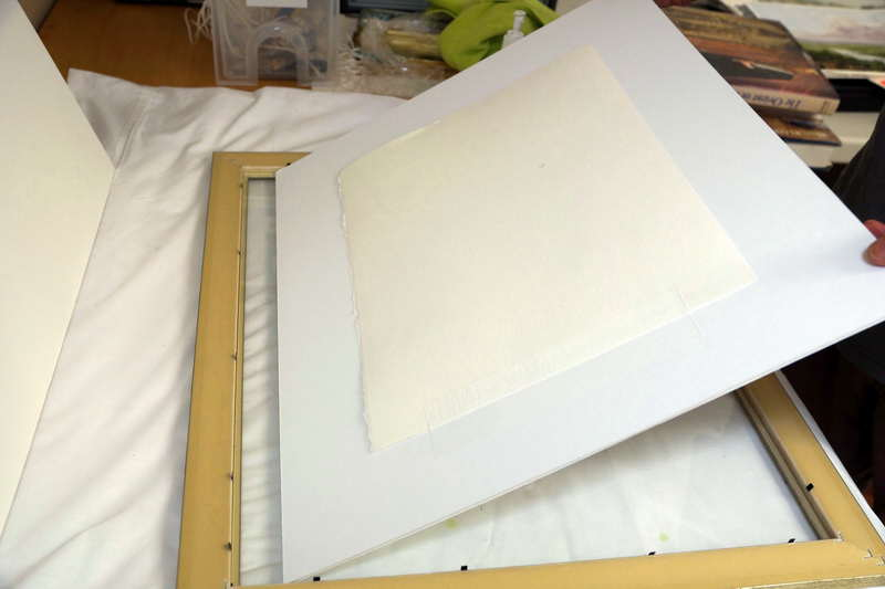 How To Frame A Watercolor Painting Painting With Watercolors