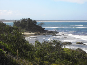 Port Macquarie coast. Photo my Michael Ng