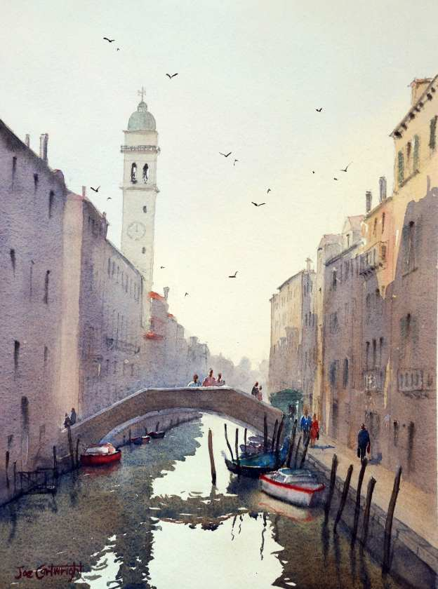 San Giorgio Dei Greci free video watercolor demonstration