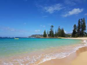 Photo from Emily Beach Norfolk Island