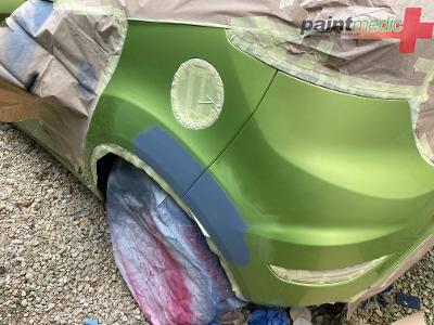 Ford Fiesta during Paintmedic repair