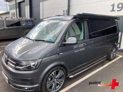 Volkswagen van in the Paintmedic workshop
