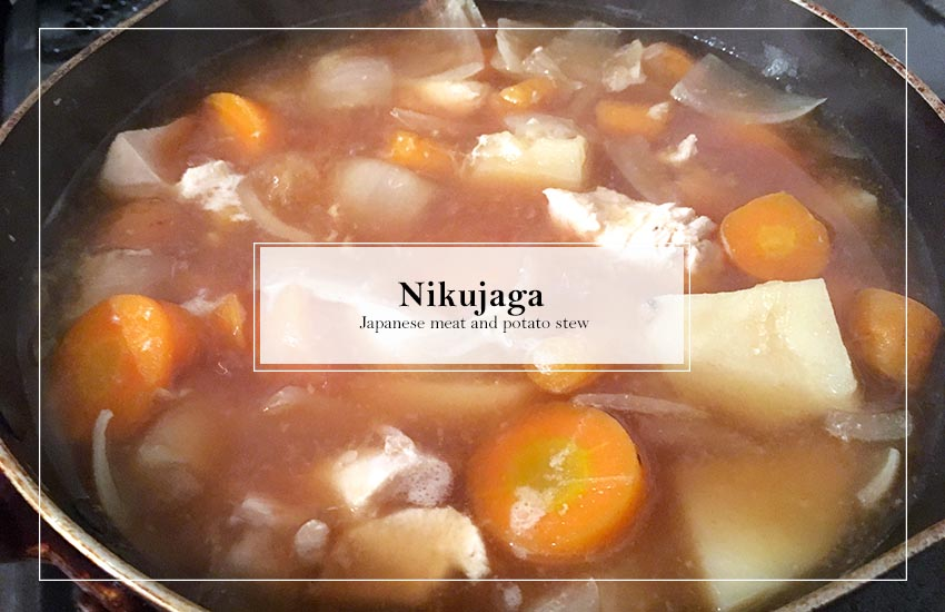 Nikujaga – Japanese Meat and Potato Stew