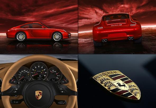 c2 customs air jordan vi porsche inspiration board Red Porsche 911 Custom Air Jordan VI Shoes by C2 Customs
