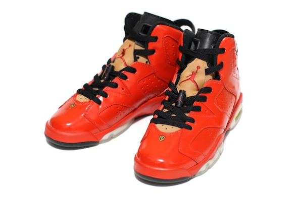 porsche 911 air jordan vi c2 customs 3 Red Porsche 911 Custom Air Jordan VI Shoes by C2 Customs