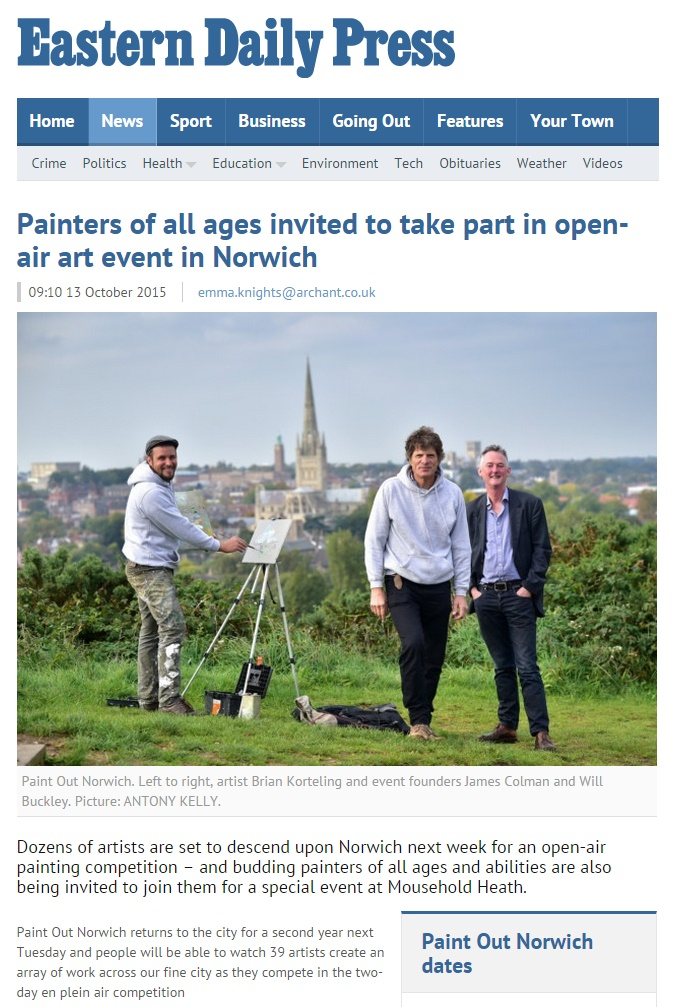 78aca4a7043c Painters of all ages invited to take part in open-air art event in Norwich