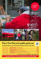 Paint Out Norwich 27-28 May Public Bus paintout