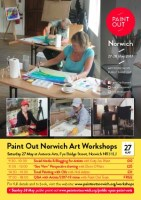 Paint Out Norwich 27-28 May Art Workshops