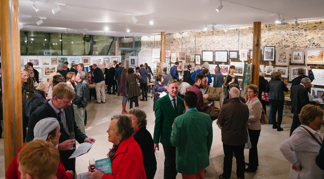 Paint Out Norwich 2015 Gala Private View, Exhibition & Auction - photo by Matt Dartford