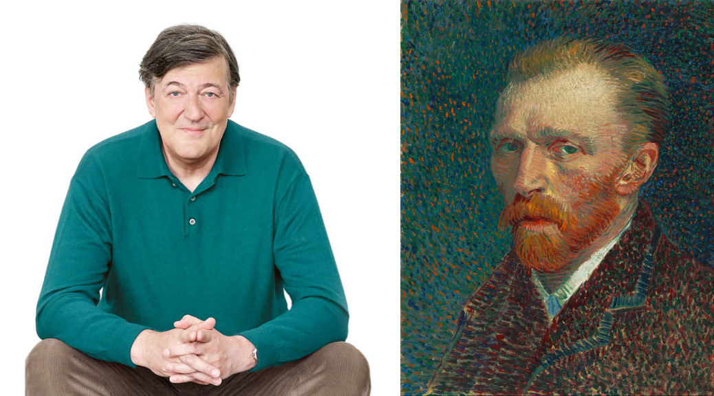 Stephen Fry and Vincent van Gogh