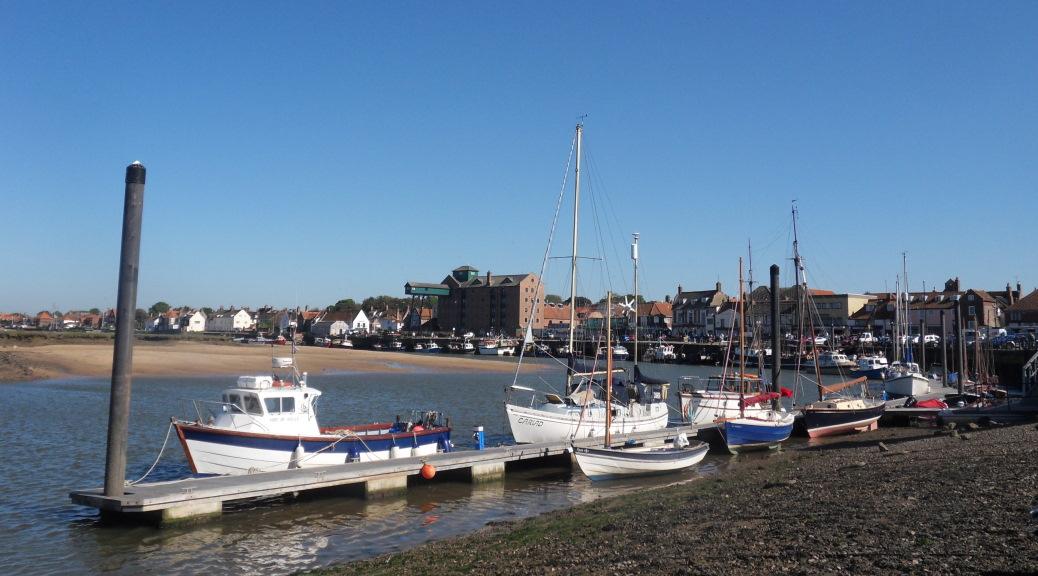 Wells-next-the-Sea Norfolk harbour vista