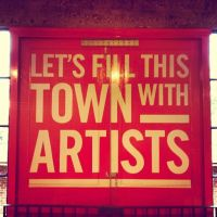 Cass Art - Let's Fill This Town With Artists