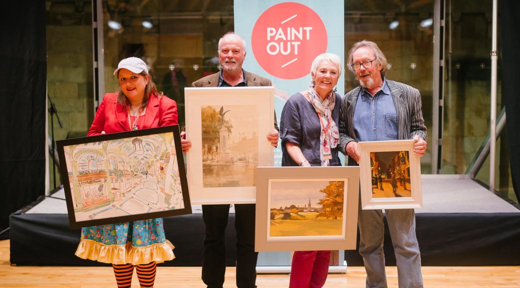 Paint Out Norwich 2015 Prizewinning Artists and Paintings ©Matt Dartford