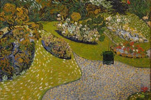 Daubigny's Garden in Auvers, Van Gogh, 1890