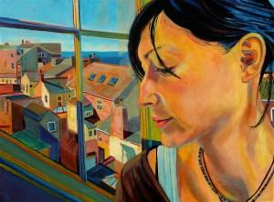 David Lindsay Girl by the Window