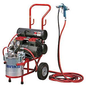 What Size Air Compressor For Hvlp Spray Gun