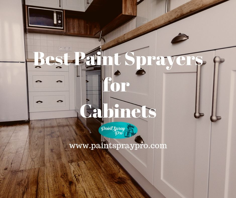 Spraying Cabinets With Airless Sprayer