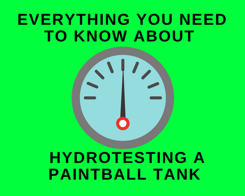 Everything You Need to Know About Hydrotesting a Paintball Tank