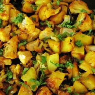 Indian Roasted Cauliflower