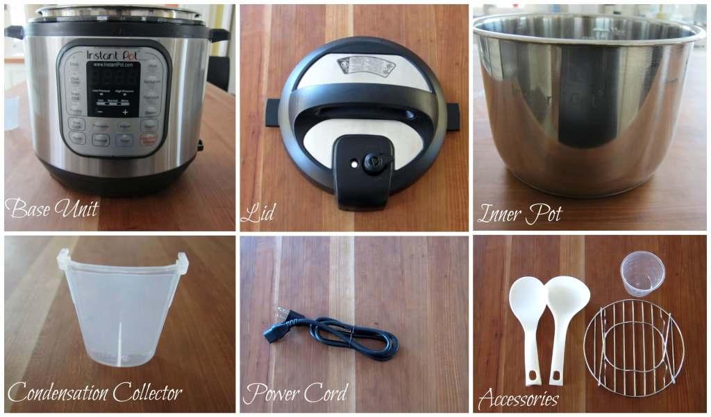 Instant Pot Manual Parts