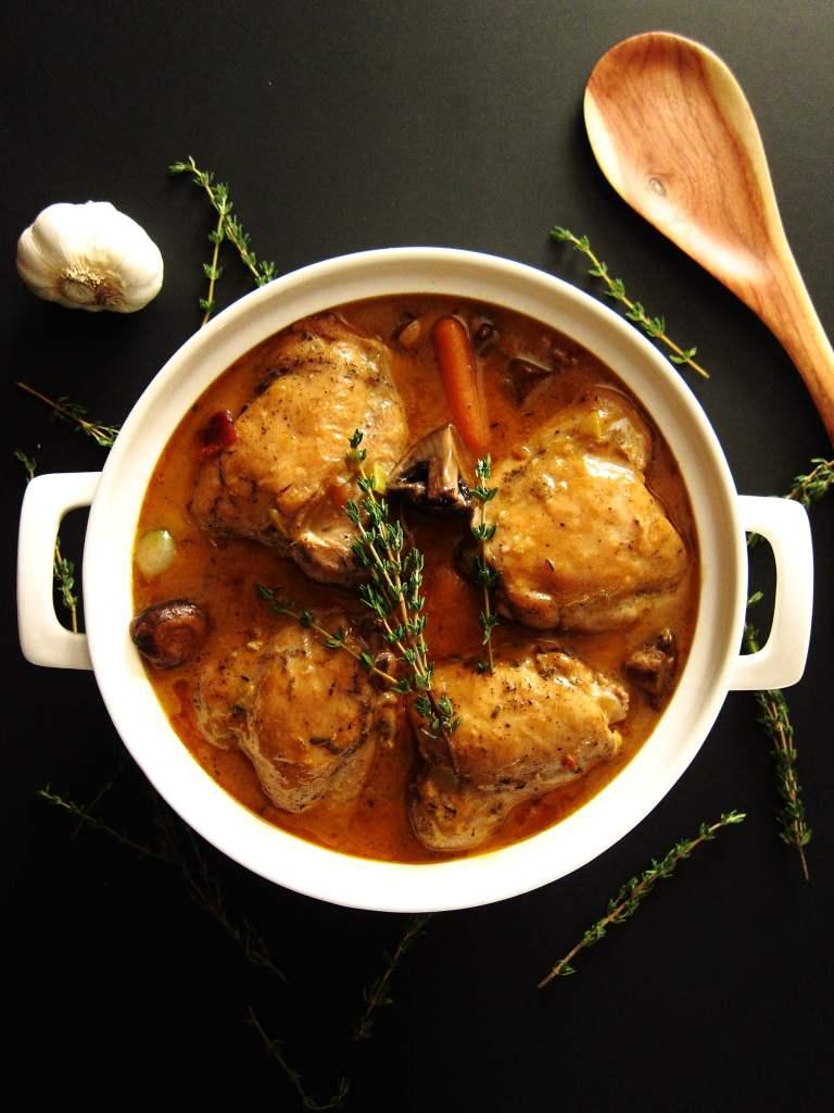 Instant Pot Coq Au Vin P1 - Paint the Kitchen Red