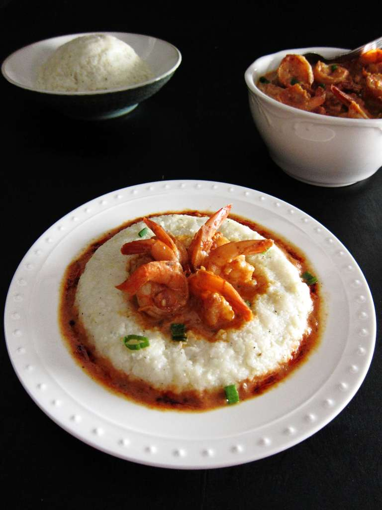 Instant Pot Shrimp and Grits P5- Paint the Kitchen Red