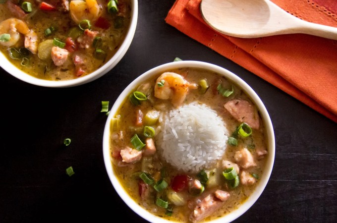 Instant Pot Gumbo L21 - Paint the Kitchen Red
