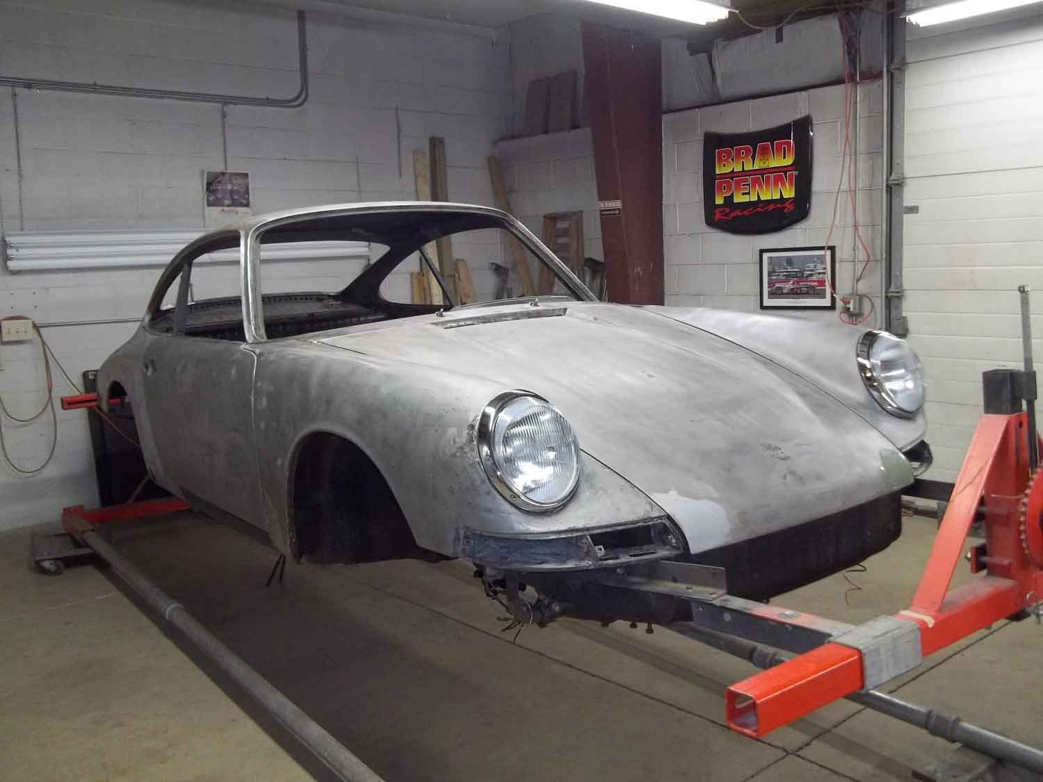 1967 Porsche 911 | Paintwerks Custom & Restoration Refinishing