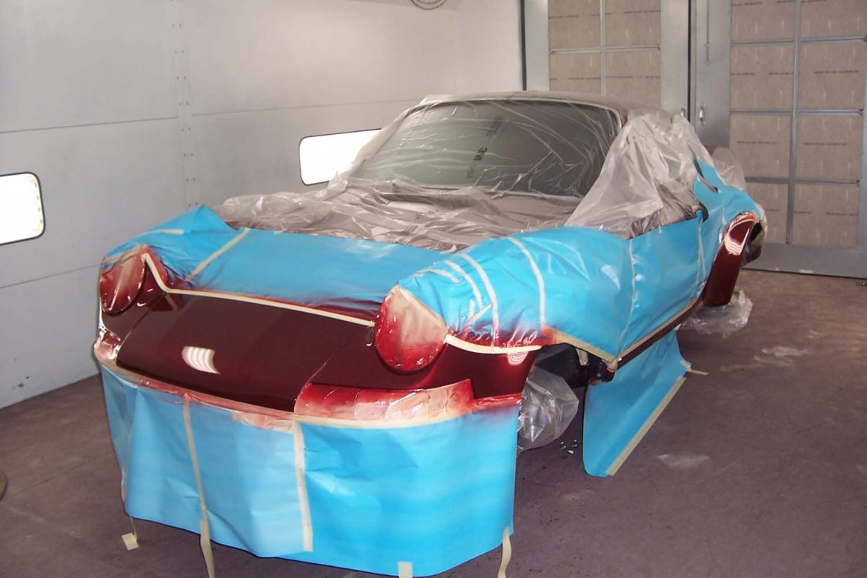 1969 Porsche 911   Paintwerks Custom & Restoration Refinishing