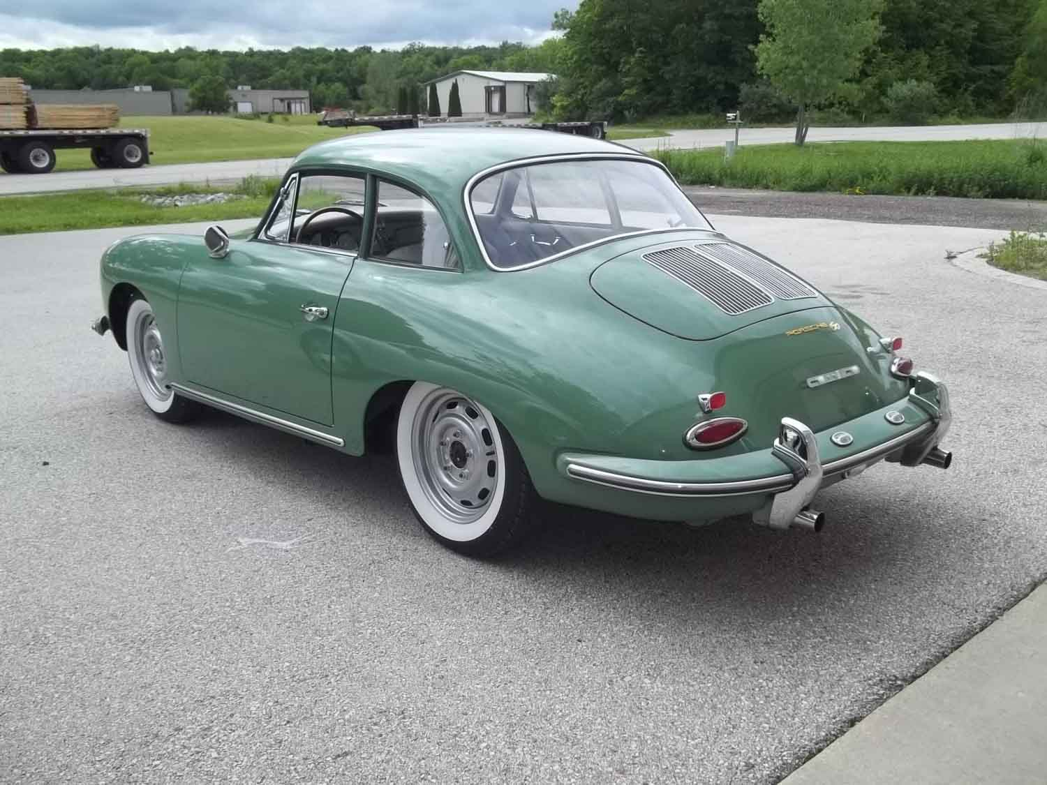 1962 356 Notchback | Paintwerks Custom & Restoration Refinishing