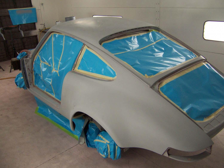 1969 Porsche 911 | Paintwerks Custom & Restoration Refinishing