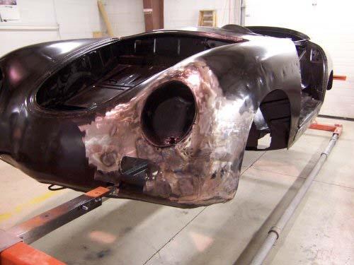 1956 Porsche Speedster   Paintwerks Customer & Restoration Refinishing