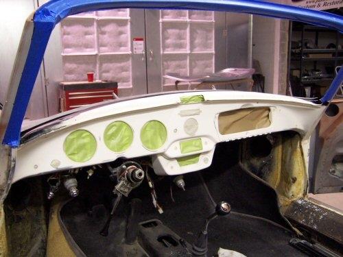 1964 Porsche 356 Cabriolet | Paintwerks Custom & Restoration Refinishing